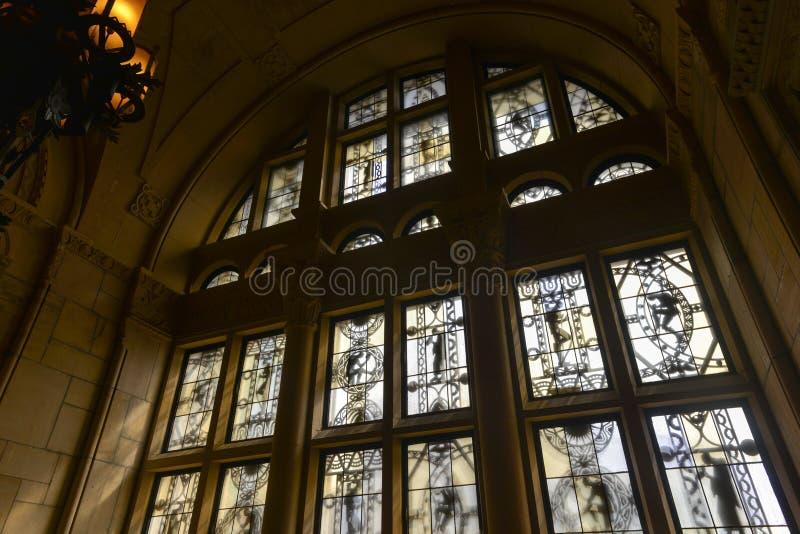 Williamsburgh sparbanktorn - Brooklyn, New York royaltyfri foto