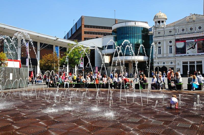 Williamson Square, Liverpool fotos de stock royalty free