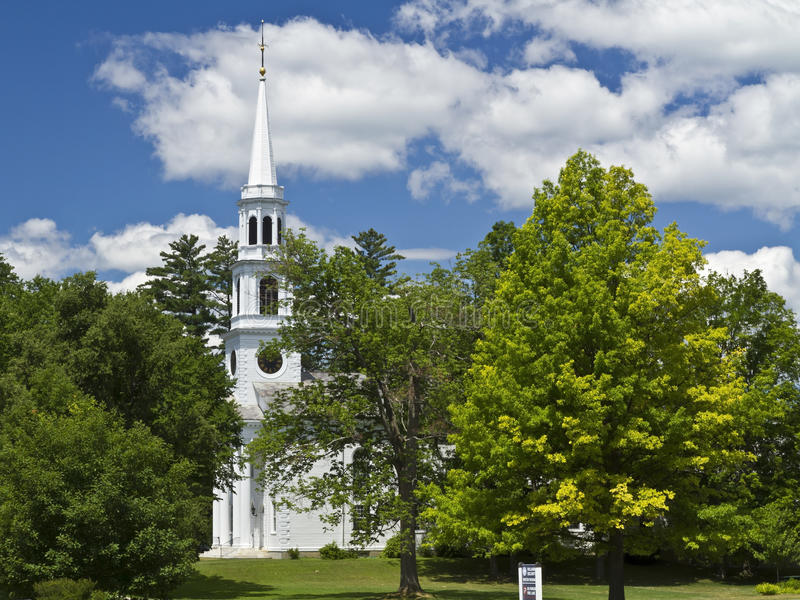 Download Williamstown Church Steple Amidst The Trees Stock Image - Image: 31897689