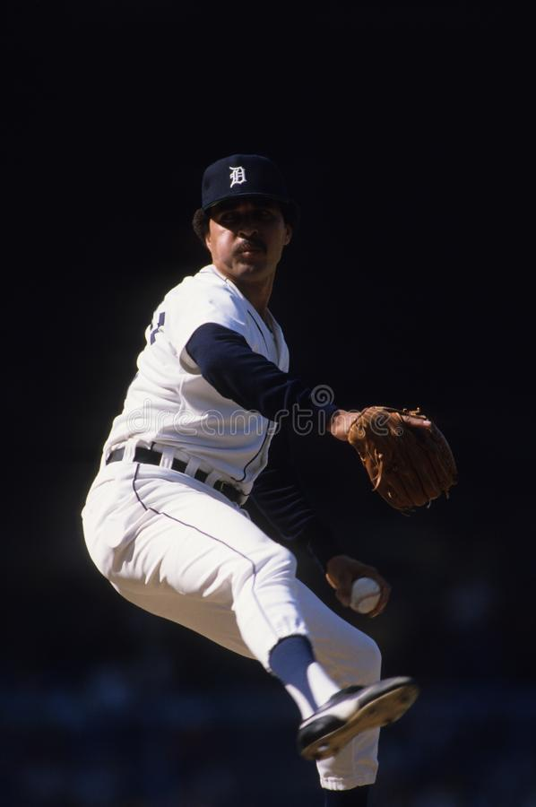 Willie Hernandez Detroit Tigers Los Angeles Dodgers royalty free stock images