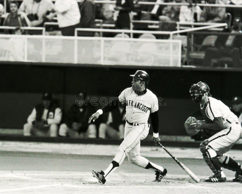 Willie Mays, San Francisco Giants lizenzfreie stockfotos