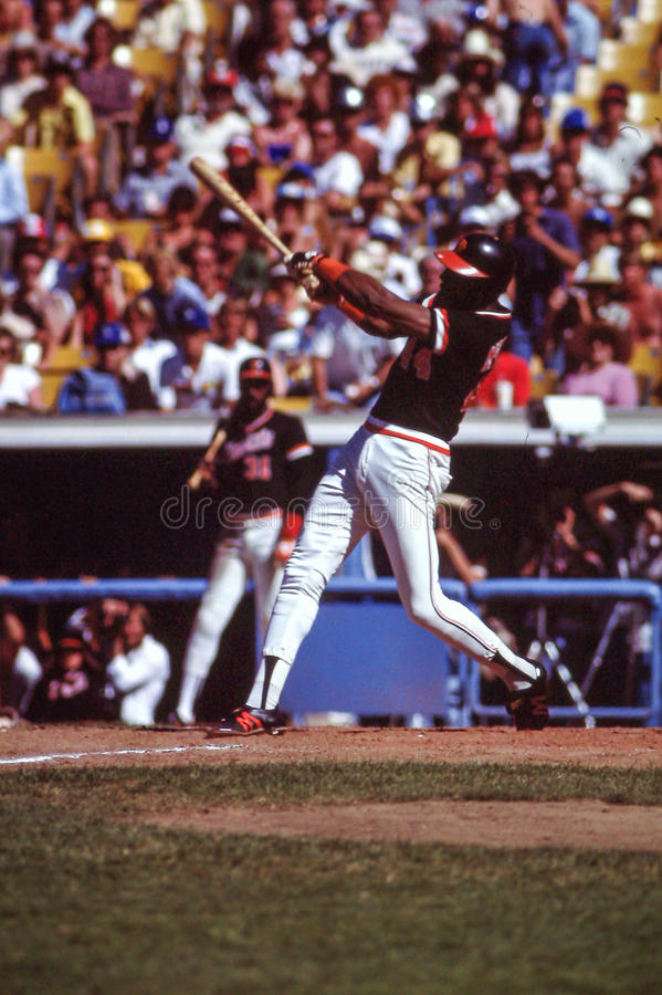 Willie McCovey, San Francisco Giants royalty-vrije stock afbeeldingen