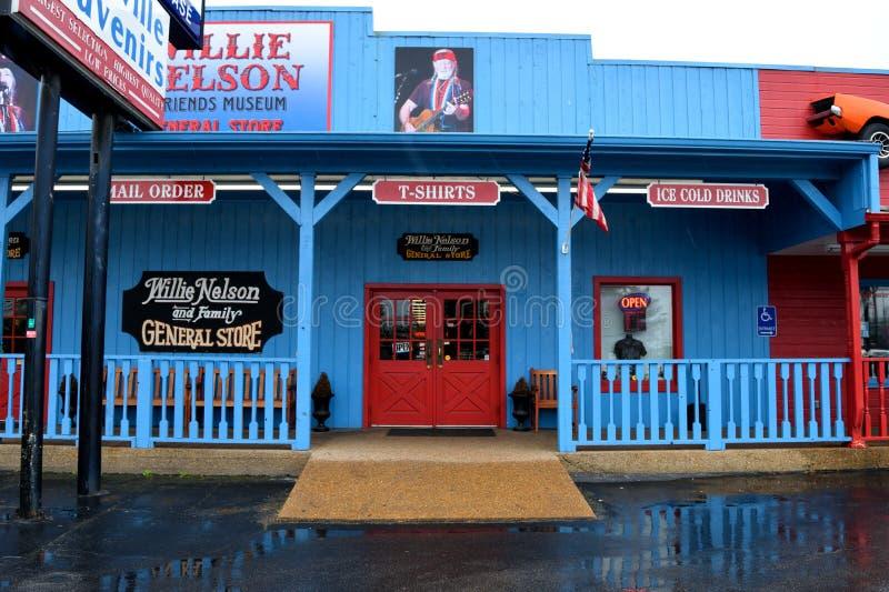Willie Nelson και μουσείο φίλων και γενικό κατάστημα στοκ φωτογραφίες με δικαίωμα ελεύθερης χρήσης