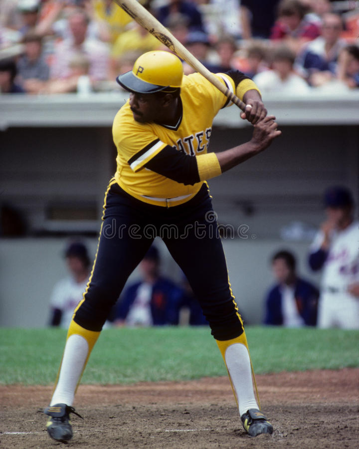 Willie Stargell Pittsburgh Pirates image libre de droits