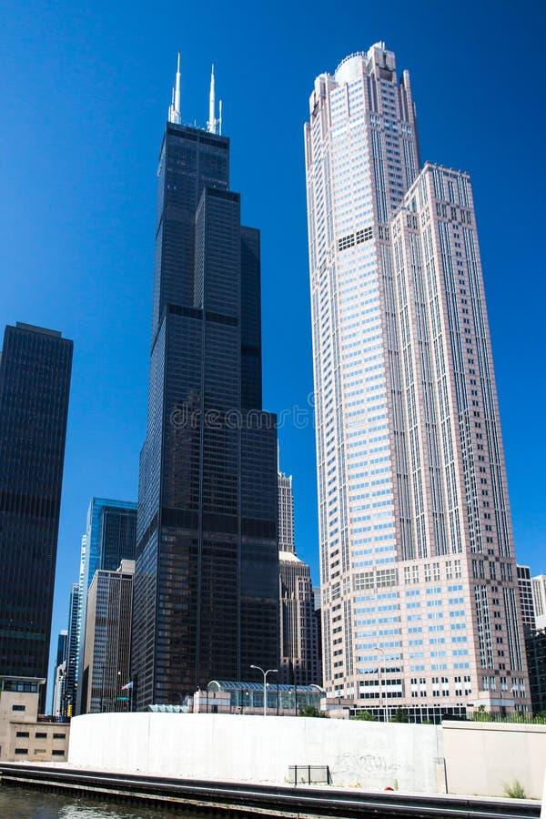willis för sikt för chicago taktorn uic arkivfoto