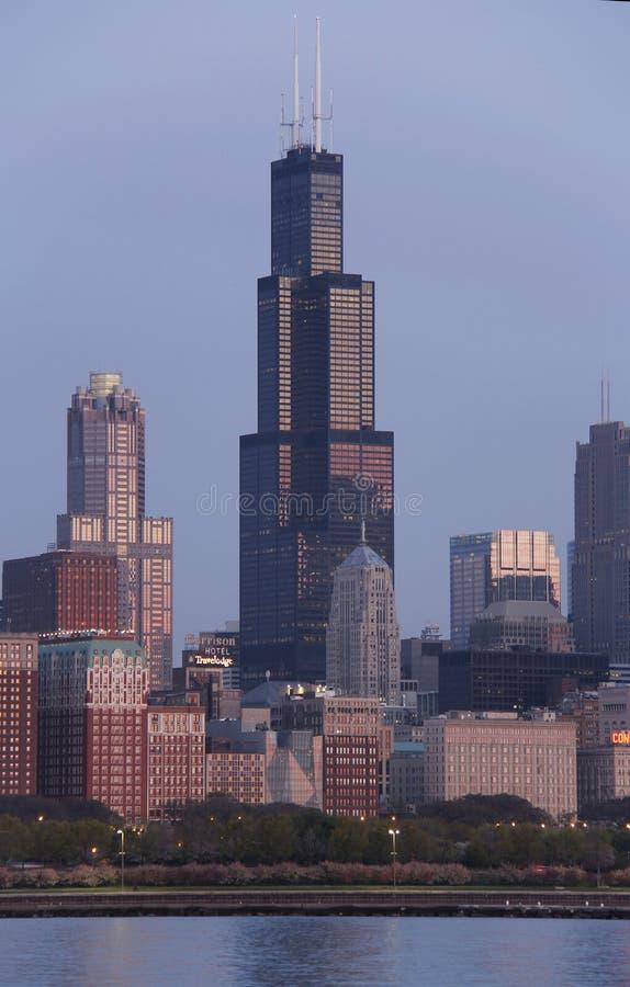 Willis/Sears Tower fotografía de archivo