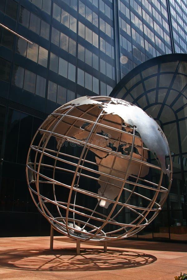Willis tornjordklot - Chicago, IL royaltyfri fotografi