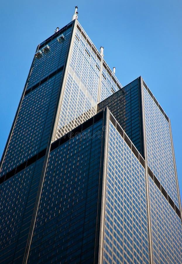 Download Willis Tower stock photo. Image of skyscraper, landmark - 10631480