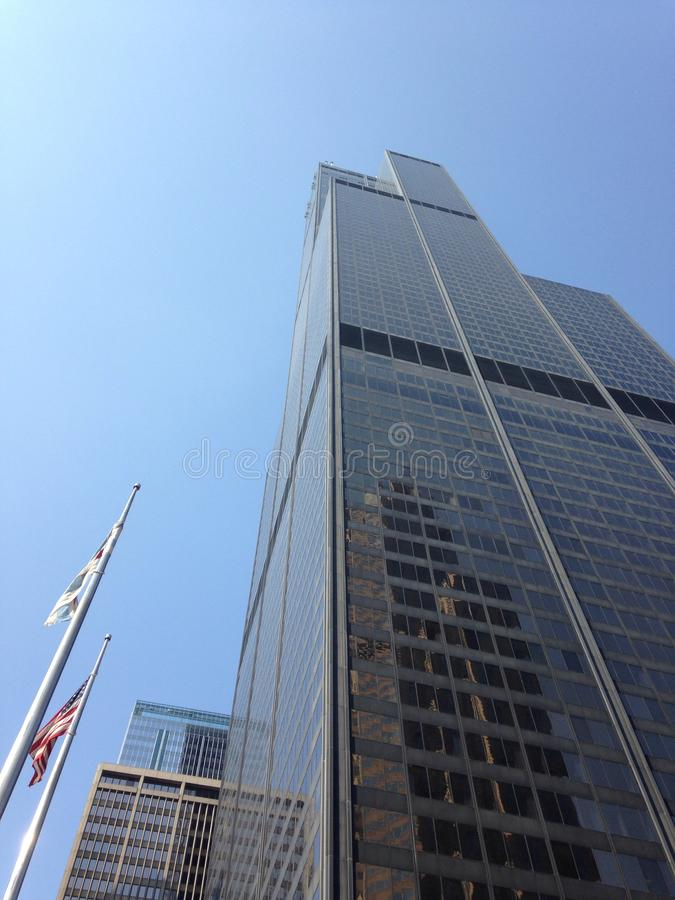 Willis (Sears) Tower Chicago stock image