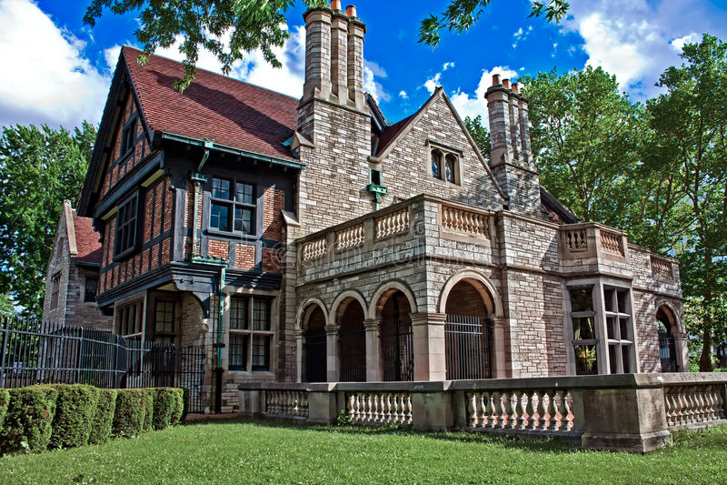 Willistead Manor 1 royalty free stock photo