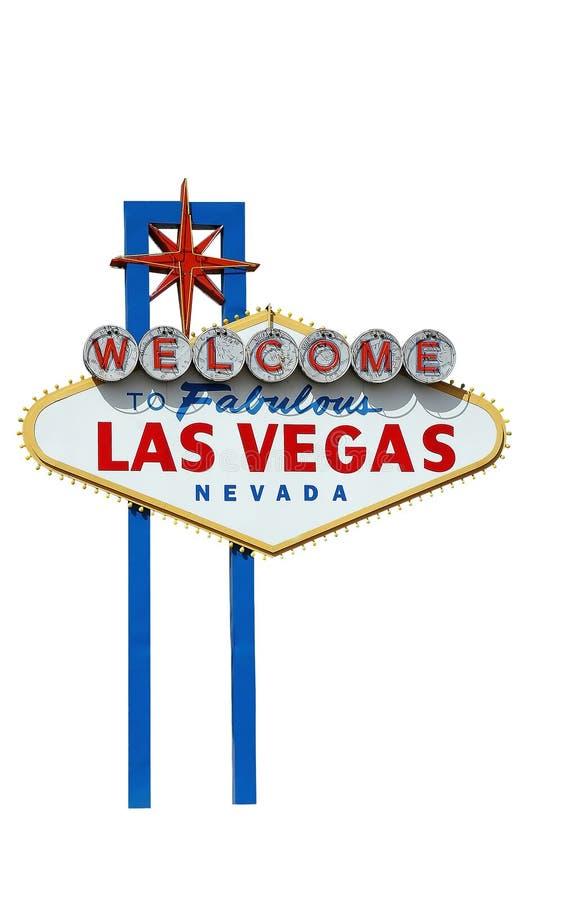 Willkommen nach Las Vegas stockbild