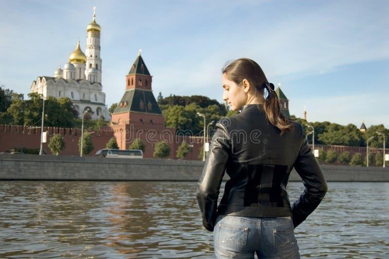 Willkommen nach Moskau stockfotos