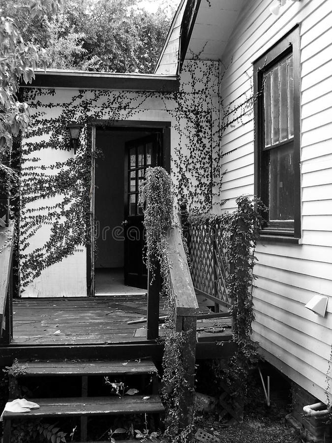 Willkommenes Haus lizenzfreie stockfotografie