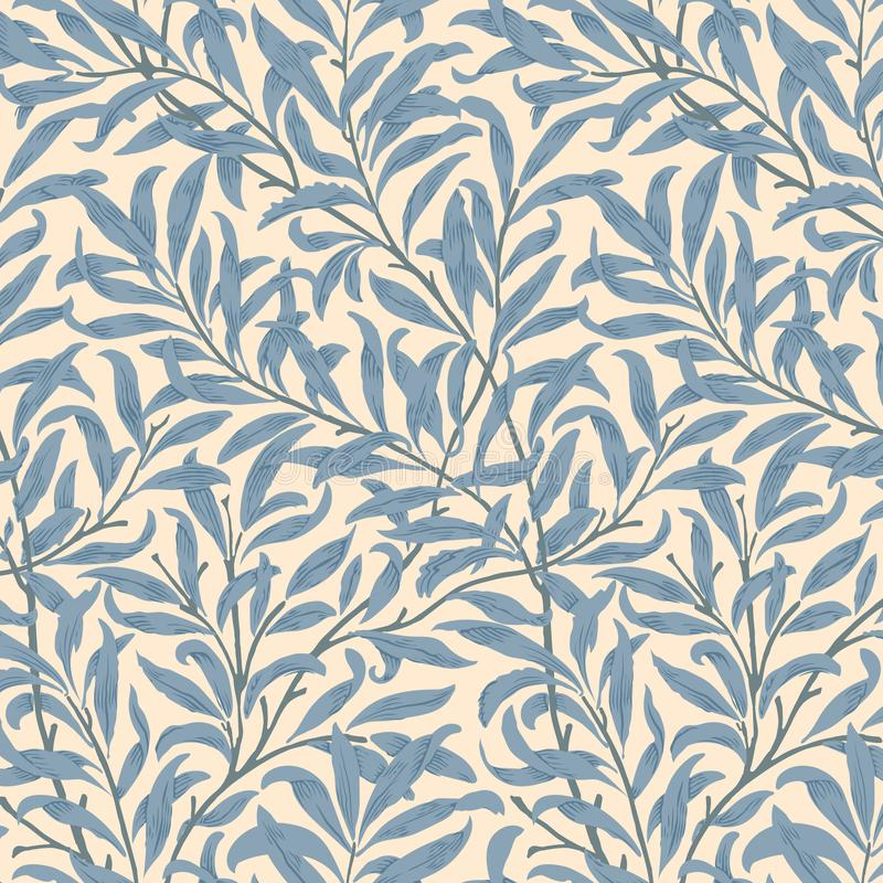 Willow Bough da William Morris 1834-1896 Originale dal museo INCONTRATO Digital migliorata da rawpixel illustrazione di stock