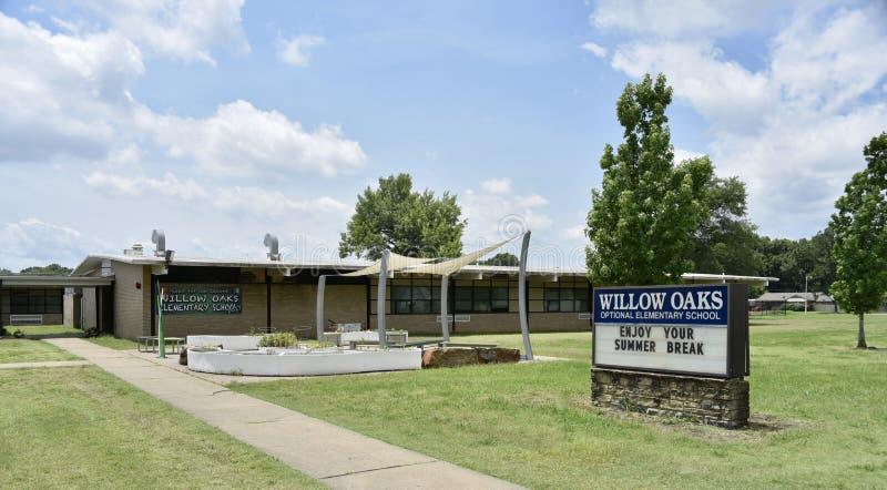 Willow Oaks School Elementary School, Memphis, TN fotografia stock