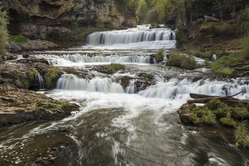 Willow River Waterfall stockbild