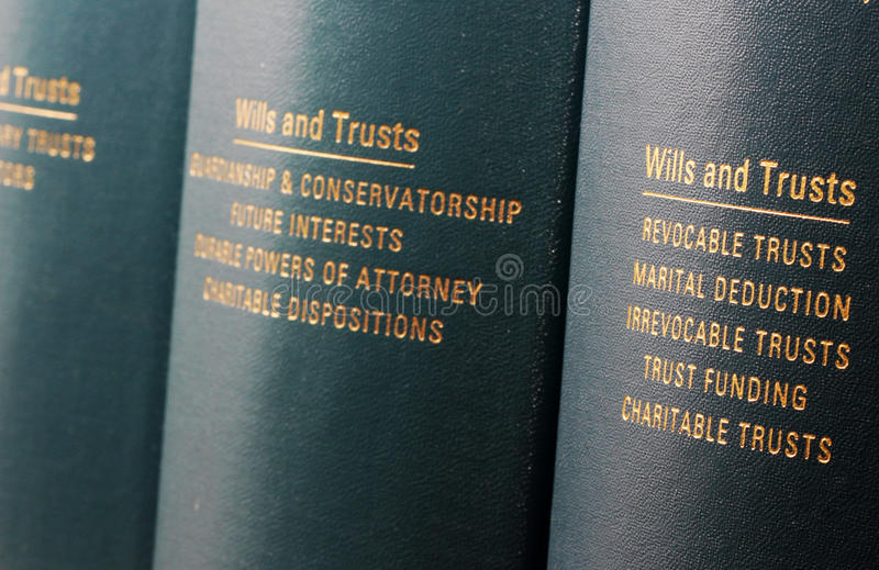 Download Wills and Trusts stock image. Image of research, library - 19999967