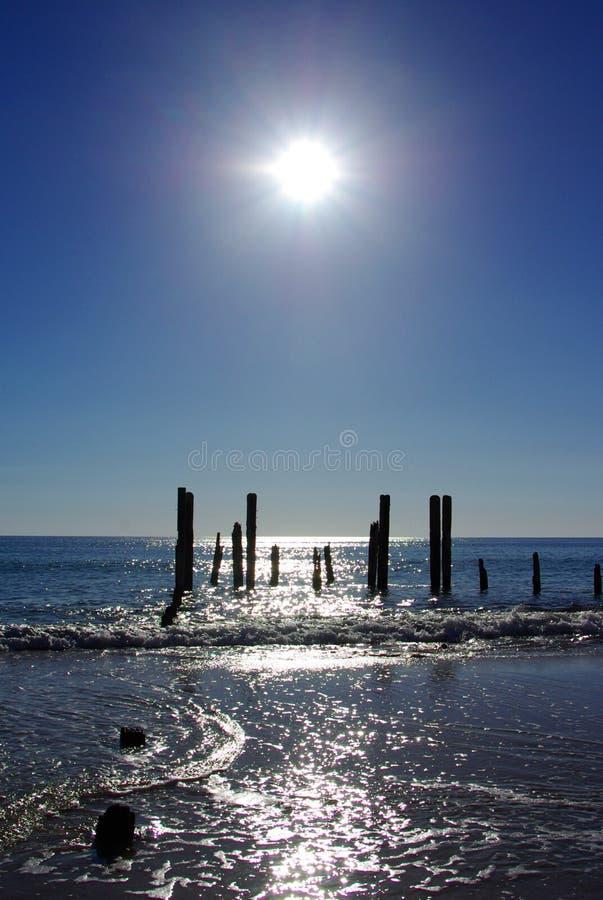 Willunga gauche et Sun image stock