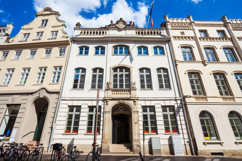 Willy Brandt domu muzeum, Lubeck obrazy royalty free