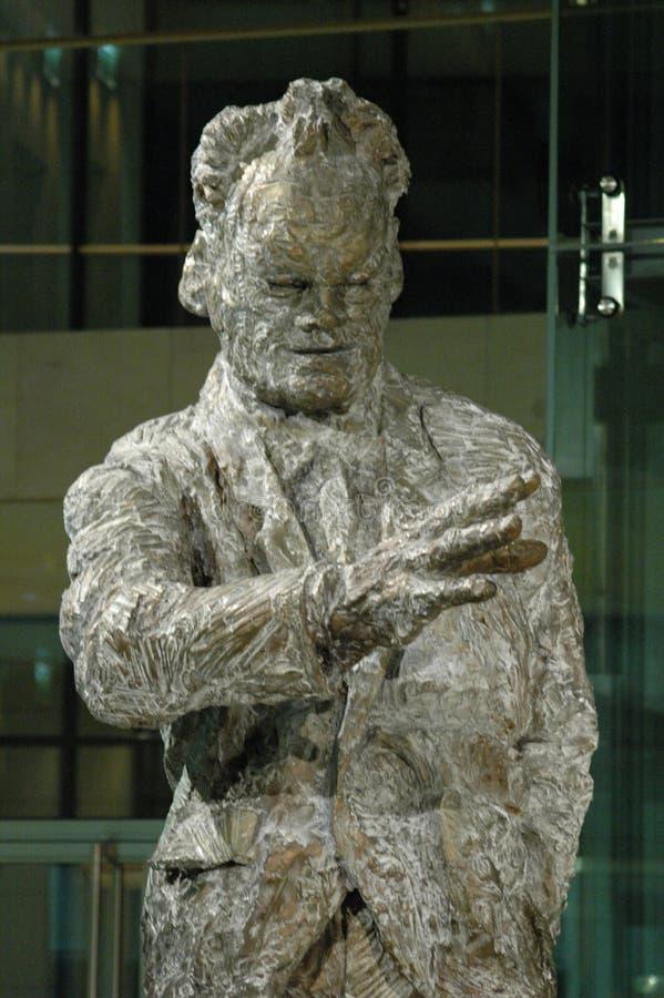 Willy Brandt statua obraz stock