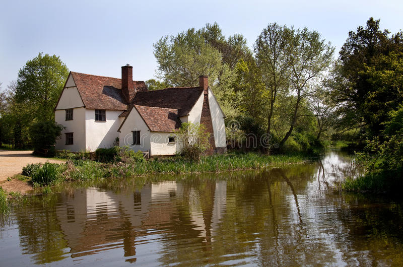 Download Willy lott's cottage stock photo. Image of reflection - 19303858