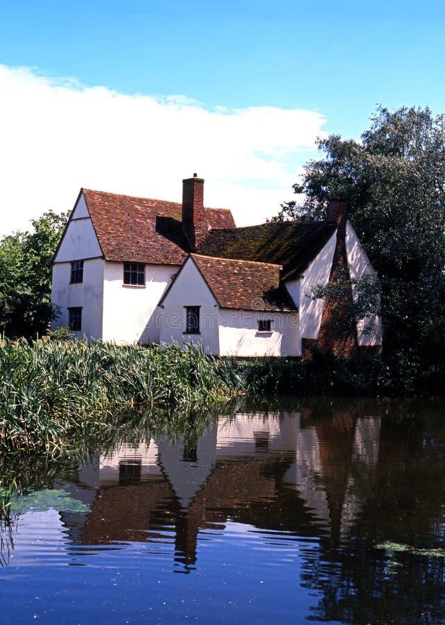 Willy Lotts Cottage, Flatford image libre de droits