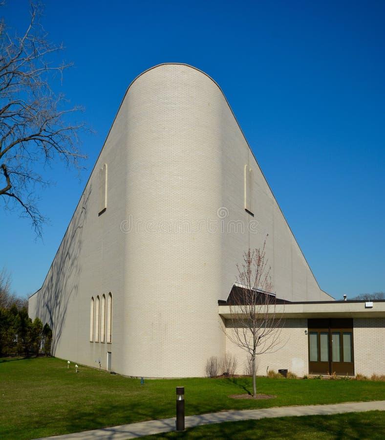 Wilmette synagoga arkivbild