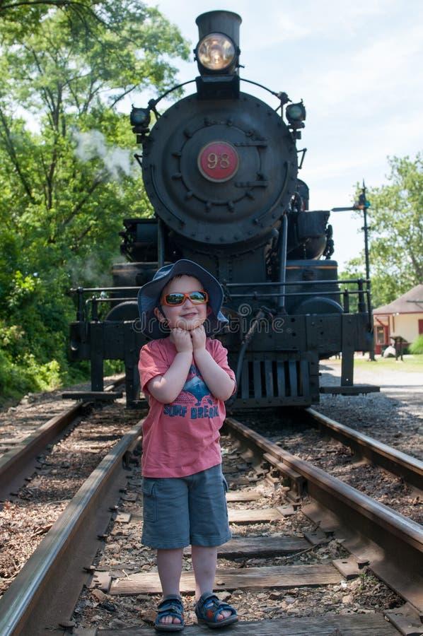 WILMINGTON, DE 15 JUIN : Wilmington et voie ferrée occidentale est une ligne de train d'héritage pour des visiteurs allant sur to images libres de droits