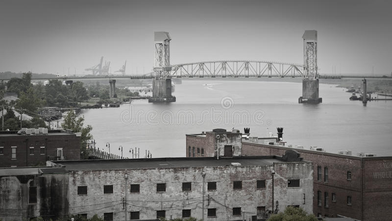Wilmington, de Vrees Riverfront van de Kaap NC stock foto's