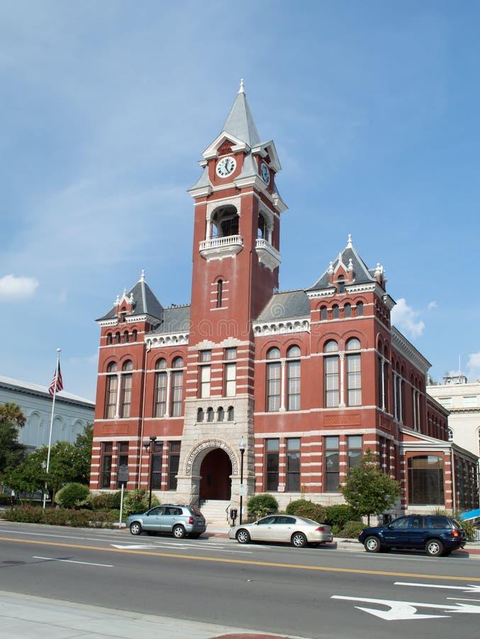 Wilmington, NC usa Aug 17,2014 Hanover okręgu administracyjnego Nowy gmach sądu obrazy stock