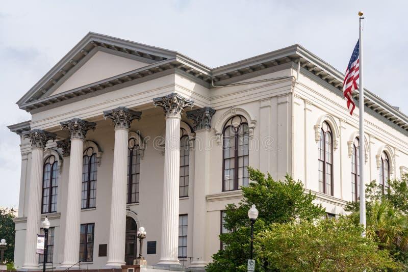 Wilmington, Nord-Carolina City Hall stockfotos