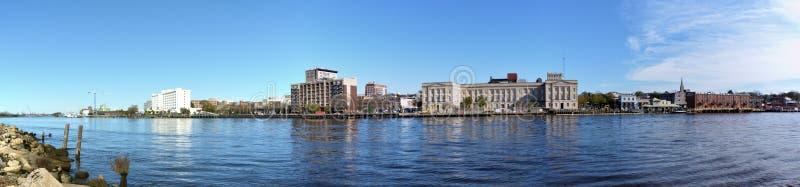 Wilmington panoramisch lizenzfreie stockbilder