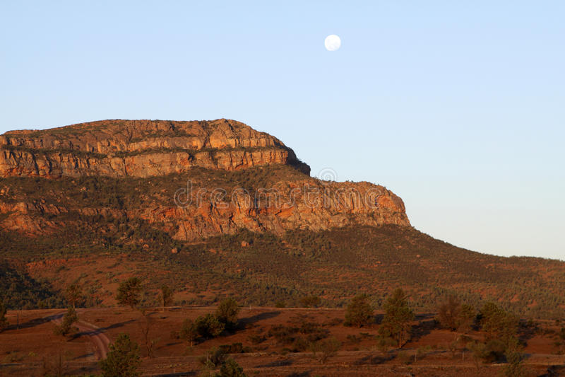 Wilpena Pound. Flinders Ranges National Park. Australia stock image