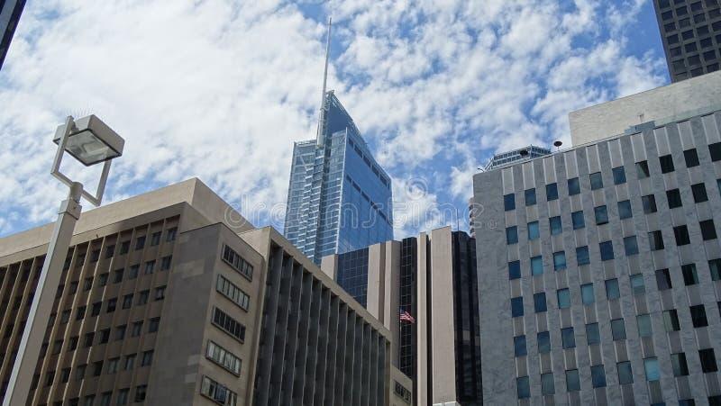 Wilshere Groot Centrum in Los Angeles Van de binnenstad, Verenigde Staten royalty-vrije stock fotografie