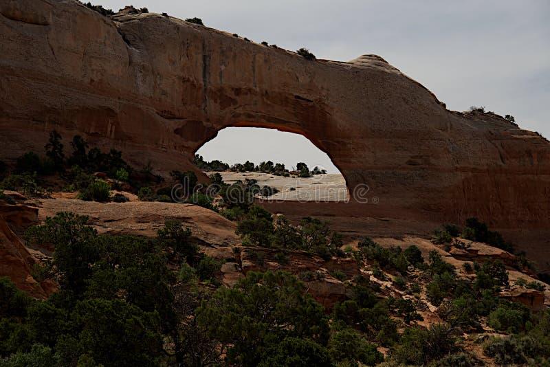Wilson Arch près de Moab image stock