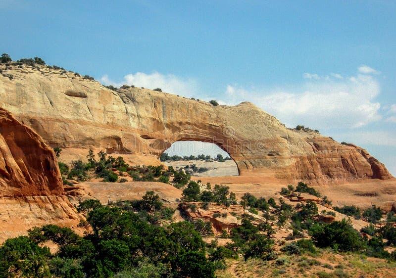Wilson Arch près de Moab, Utah images stock
