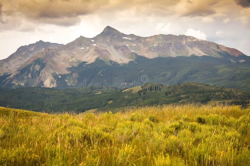 Wilson Peak dans le Colorado images stock