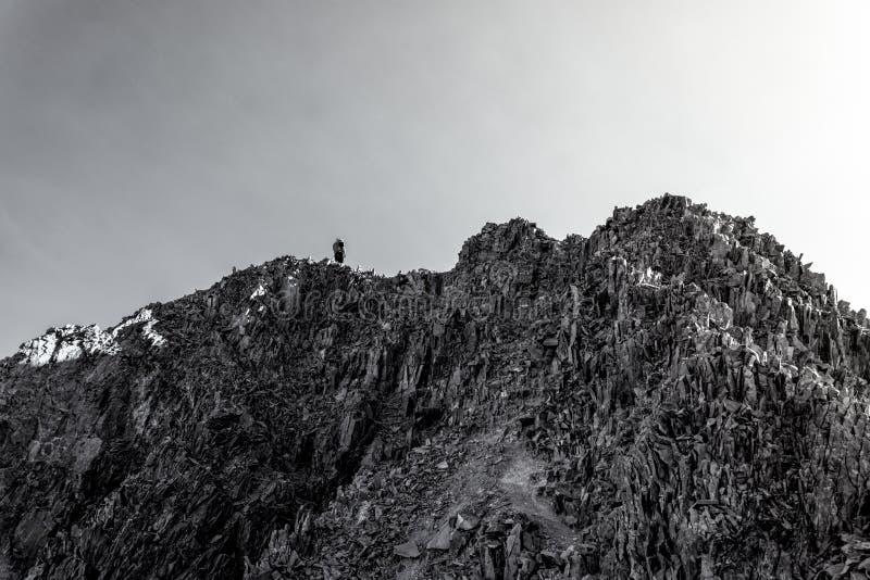 Wilson Peak rocailleux San Juan Range, le Colorado Rocky Mountains images stock
