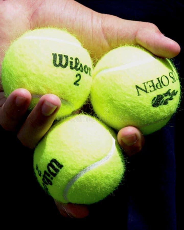 Wilson Tennis Balls immagine stock