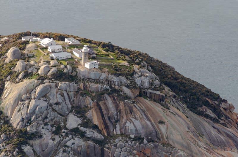Wilsons cypla parka narodowego latarni morskiej powietrzna fotografia zdjęcie stock
