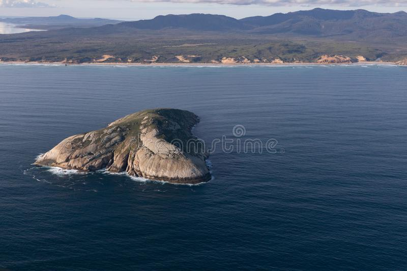 Wilsons Promontory National Park aerial photograph royalty free stock image