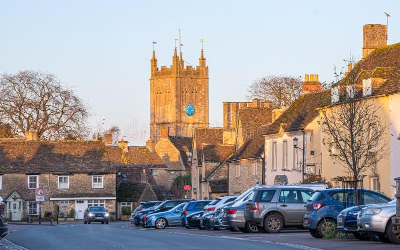 Wiltshire Dorf Sherston, England, Vereinigtes Königreich stockfoto