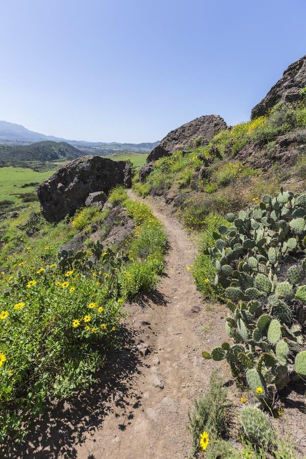 Wilwood parkerar att fotvandra slingan i Thousand Oaks Kalifornien royaltyfria foton