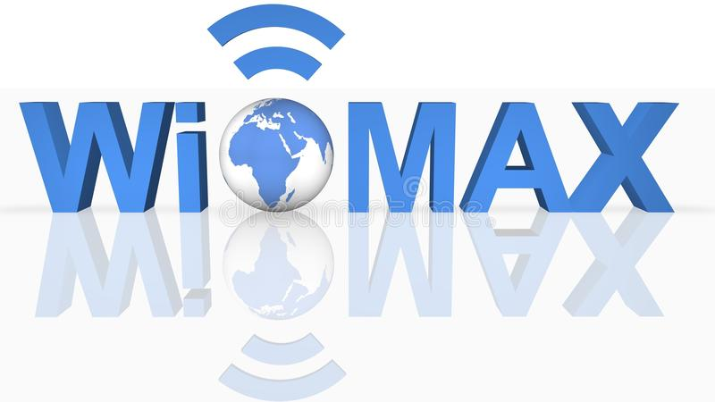 WiMAX Technology stock illustration
