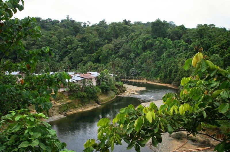 Wimbi, Equateur images libres de droits