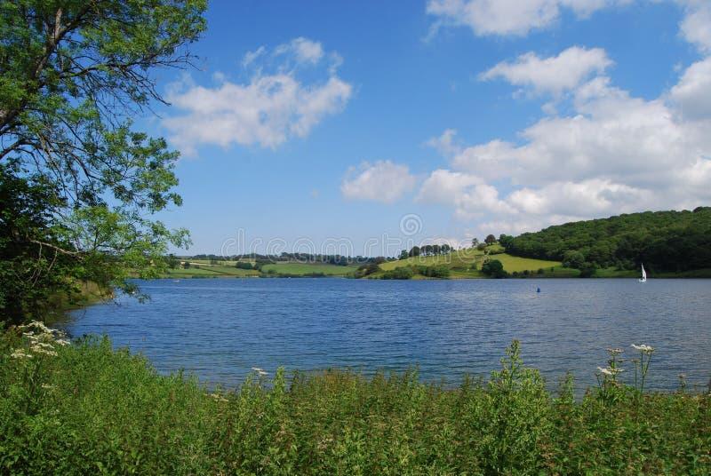 Wimbleball水坝 免版税图库摄影