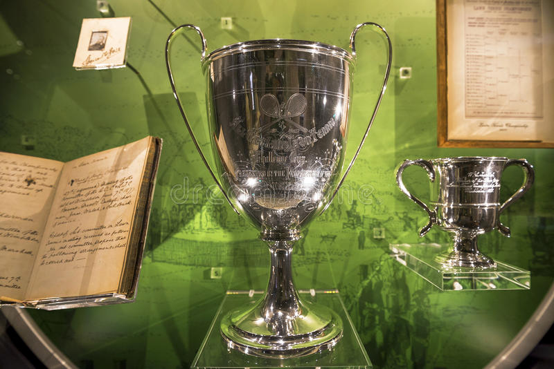 Wimbledon cup trophey stock images