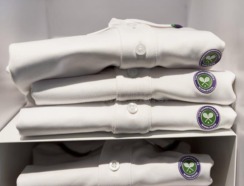Wimbledon t-skjortor arkivbilder