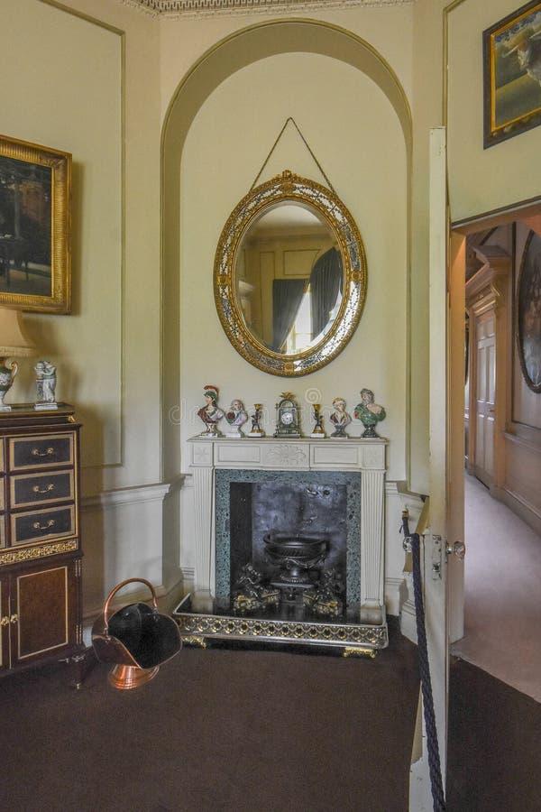 Wimpole Hall przedsionek fotografia royalty free