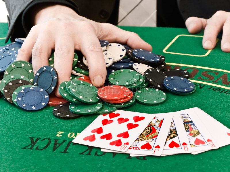 Download Win stock photo. Image of fingers, club, playing, deal - 8979804